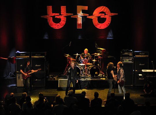Ufo The Classic Rock Band Featuring Phil Mogg Andy